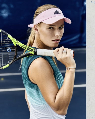 Recycled waste meets high-end tennis fashion: Wozniacki's ...