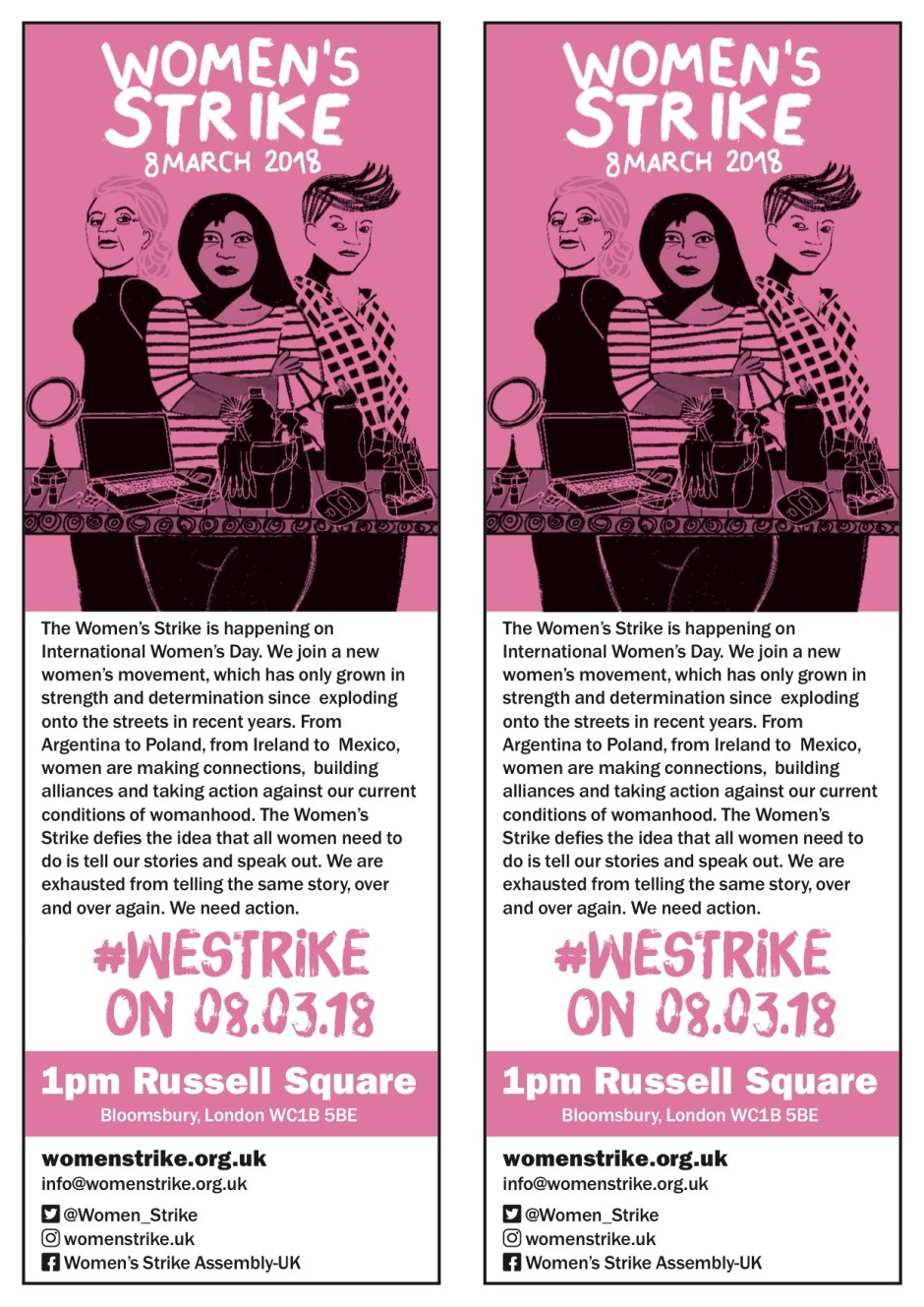 Women's Strike Leaflet Jan 2018