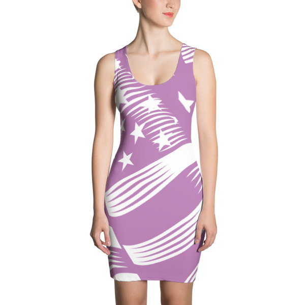 American Flag Sublimation Cut & Sew Dress