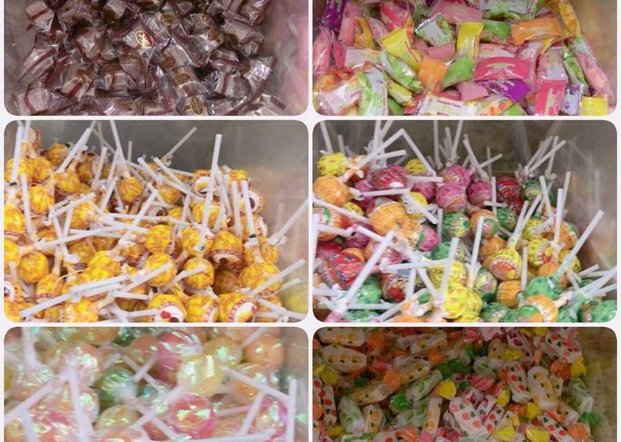 屏東>萬丹>隆達餅乾 零食工廠,小朋友的糖果屋,量販價格零售賣,辦年貨先來這裡買零食吧!