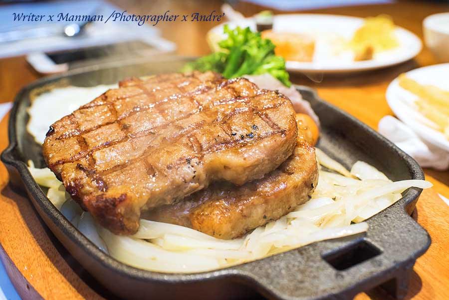 西門牛排「德立莊中庭餐廳」 $398起,排餐沙拉吧吃到飽,內有超詳細自助吧品項(已更改為「套餐」方式供應)