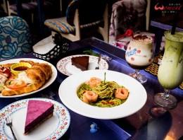 台北>大同區> D.G. Café 走入歐式鄉村風的油畫裏,用天然、健康深刻美食記憶
