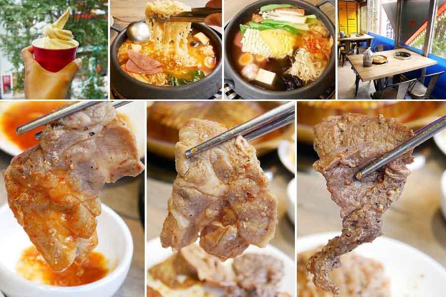西門町韓式烤肉吃到飽「阿豬嘻烤肉村」 銅盤烤肉398元一口價!6種肉品搭配10種醬料、辛香料,吃得好過癮!