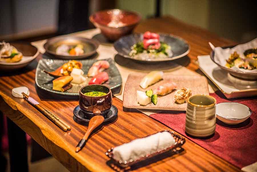 台北>大安區>釉 Yu Ryori Nippon,以日本進口新鮮食材做基底,上演一場場創意料理藝術秀,每次來訪都是驚喜