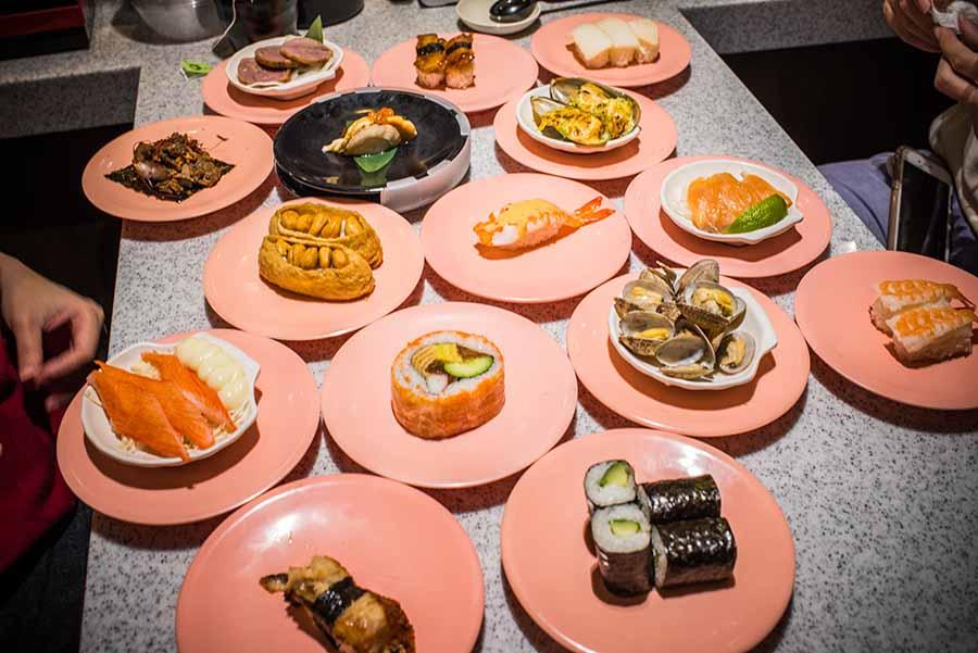 迴轉壽司霸主【爭鮮】全品項試吃心得分享!隱藏版爭鮮還有哪些沒吃過?平價日料壽司首選