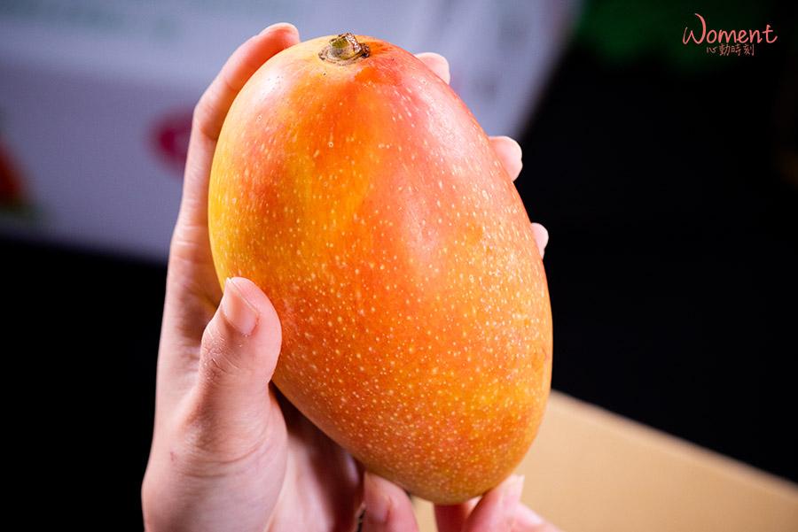 孫家水蜜桃芒果-成熟樣貌