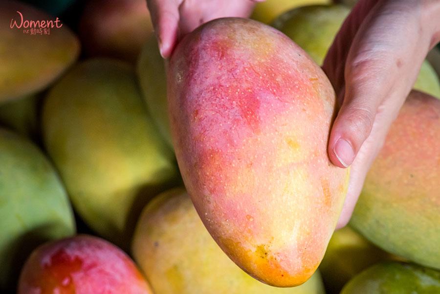 水蜜桃芒果-成熟狀態