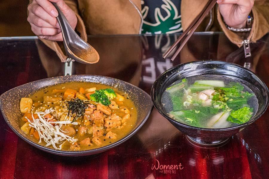 吳師傅小廚房-咖哩燉肉飯/麵+綜合湯