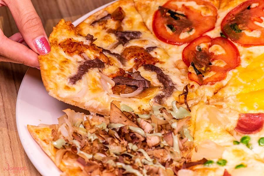 淡水輕軌美食-義米蘭-薄皮pizza