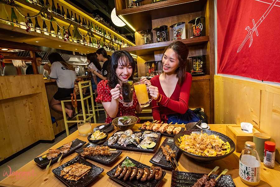 【淡水人氣居酒屋-竹圍店】3年展3店!蔦燒居酒屋,將「新鮮」視為一生懸命!致力維持料理品質及創新口味