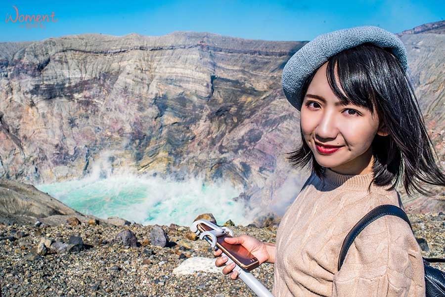 【九州自駕】熊本景點。阿蘇火山賞青池色的活火山口、再到阿蘇草千里喝阿蘇牛乳,馬場吃馬肉!?