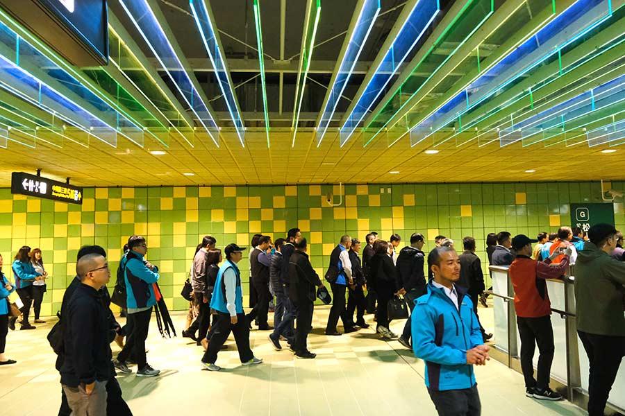 新北環狀線轉乘亮點!取材望春風搭配原創的「音樂通廊」,用音樂讓通勤族放鬆、轉乘也能是種享受
