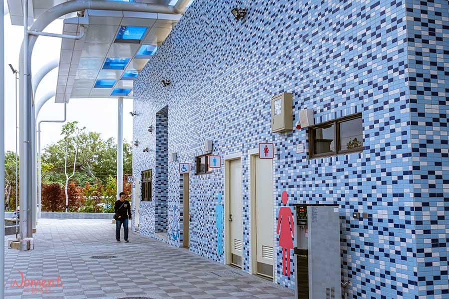 淡海輕軌藍海線-漁人碼頭站-公共廁所