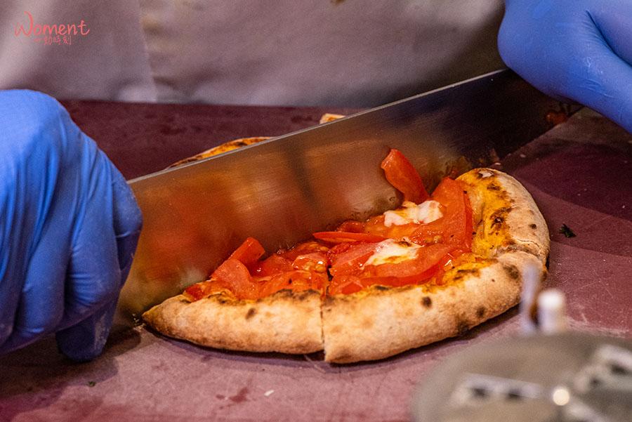 蔬食素食餐廳-吃到飽推薦果然匯 - 鹹披薩甜披薩菜色