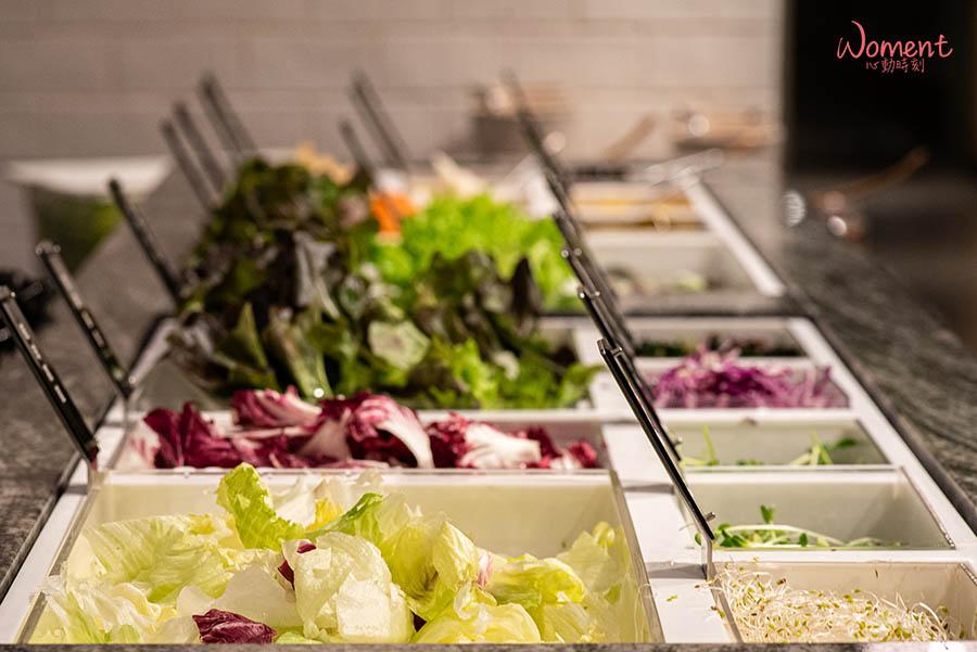 蔬食素食餐廳-吃到飽推薦果然匯 - 蔬菜種類多