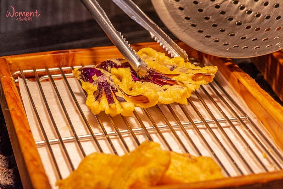 蔬食素食餐廳-吃到飽推薦果然匯 - 職人天婦羅皮脆多汁