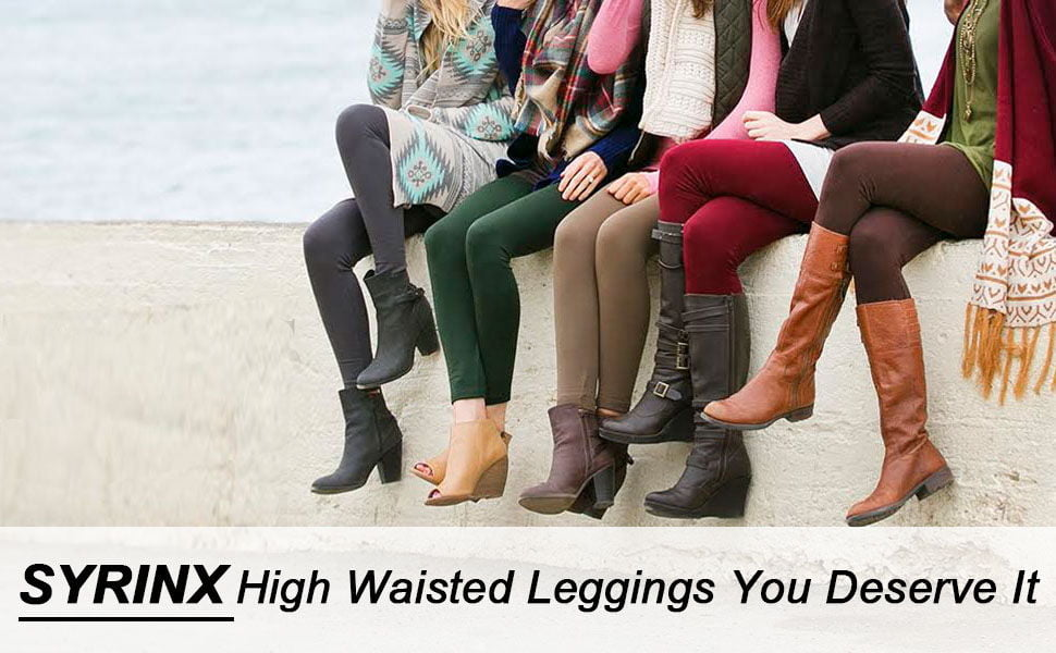 SYRINX High Waisted Leggings for Women 1