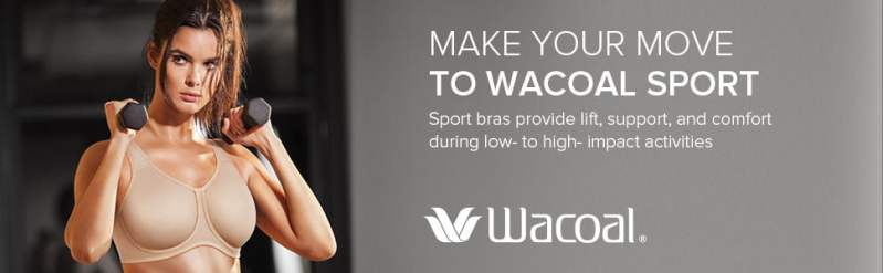 Wacoal Womens Underwire Sport Bra