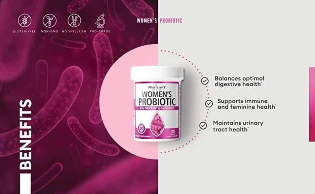physicians choice best probiotics for women