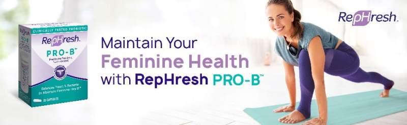 rephresh best probiotics for women