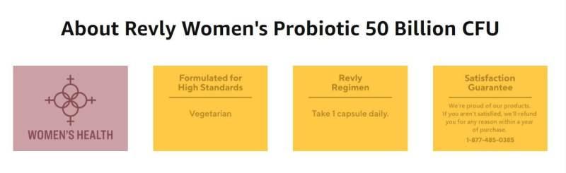 revly best probiotics