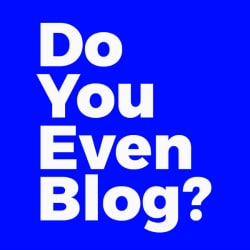 do you even blog logo