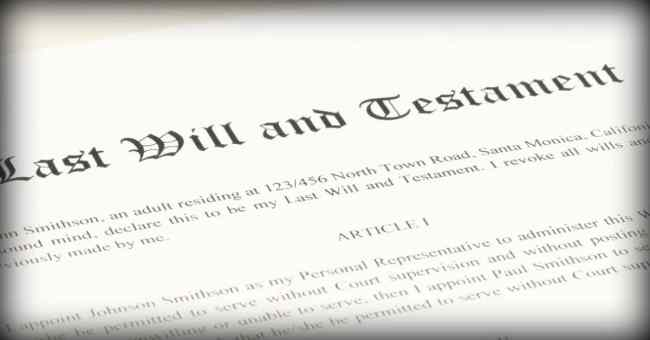 What Happens If I Die Without Creating A Will?