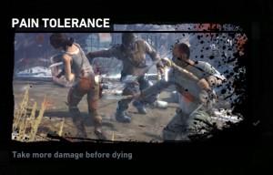 pain tolerance