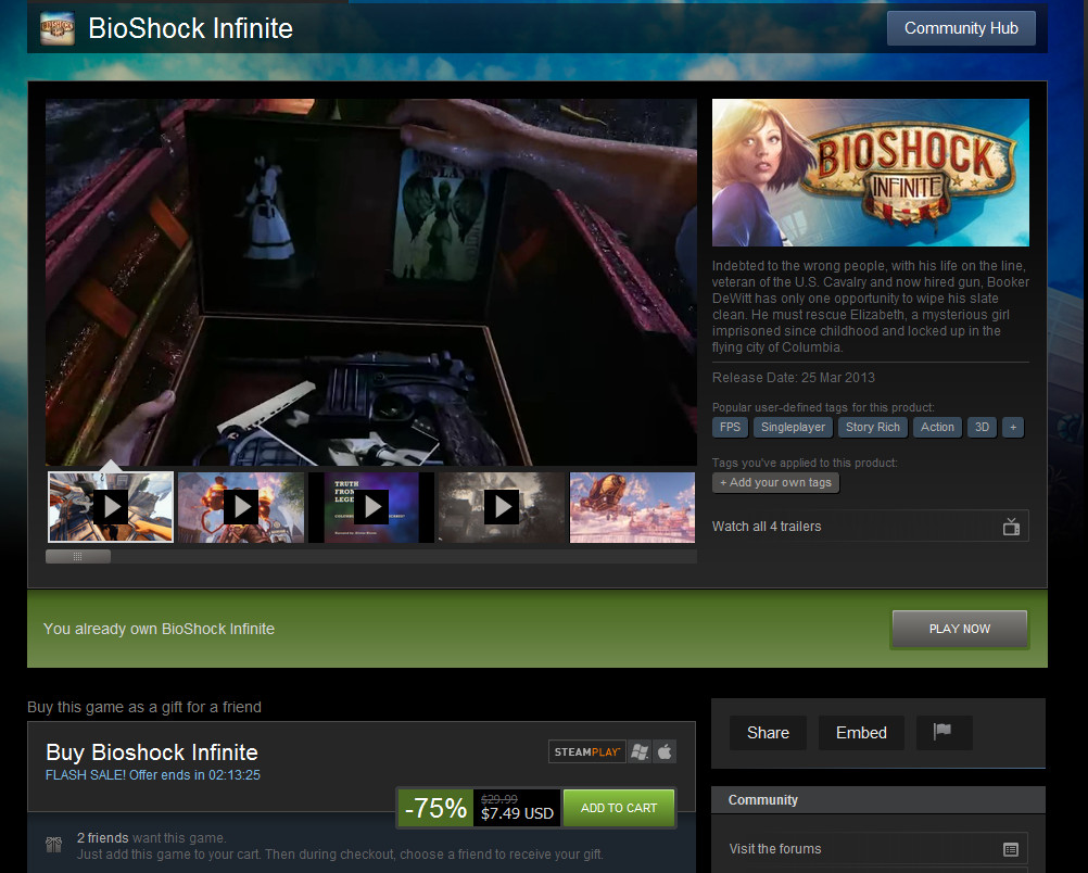 steam bioshock