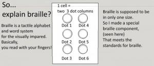Braille dice RPG Kickstarter