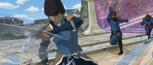 Legend of Korra, Nickelodeon / Activision / PlatinumGames, 2014, image from gamenguide