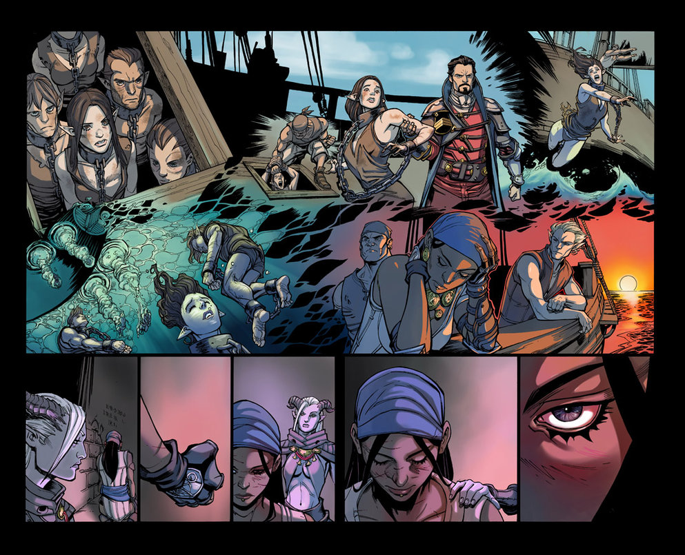 Dragon Age Those Who Speak Dark Horse Comics