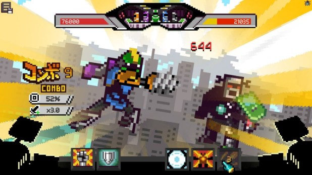 Chroma Squad - Mecha Battle