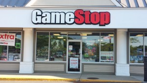 Game Stop store