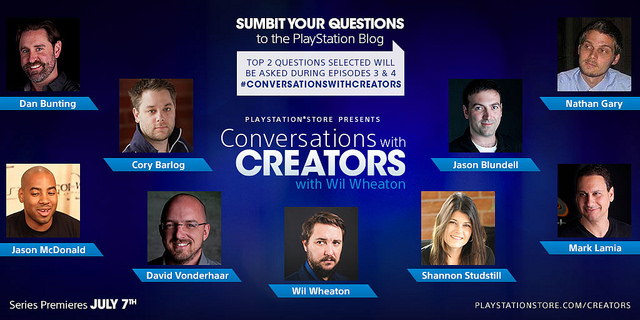 Conversations with Creators