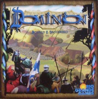 Dominion, Rio Grande Games, 2010 (photo credit: Board Game Geek)