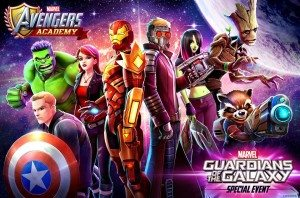 Avengers Academy Guardian of the Galaxy event, TinyCo, 2016
