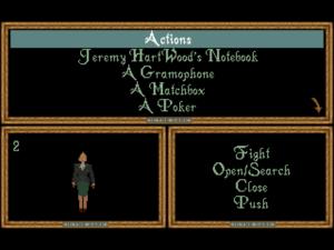 AITD's inventory screen