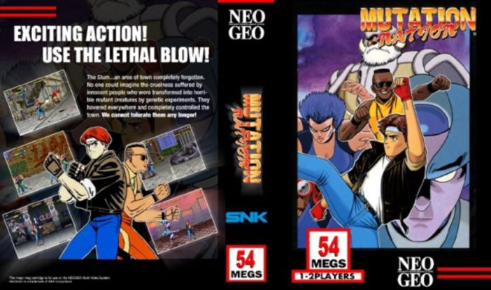 Mutation Nation, SNK, New Geo 1992