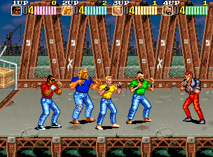 Vendetta/ Crime Fighters 2, arcade, Konami, 1991
