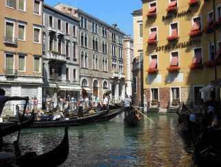 Venedig 10 Verkehrschaos