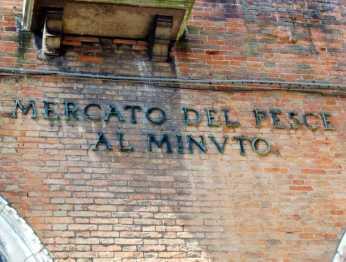 Venedig 27 Venedig Fischmarkt