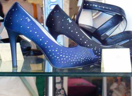 Bolsena 16 - Schaufenster Schuhe