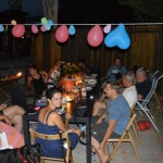 Geburtstagsfeier von unserer Italienischen Freundin Nicoletta