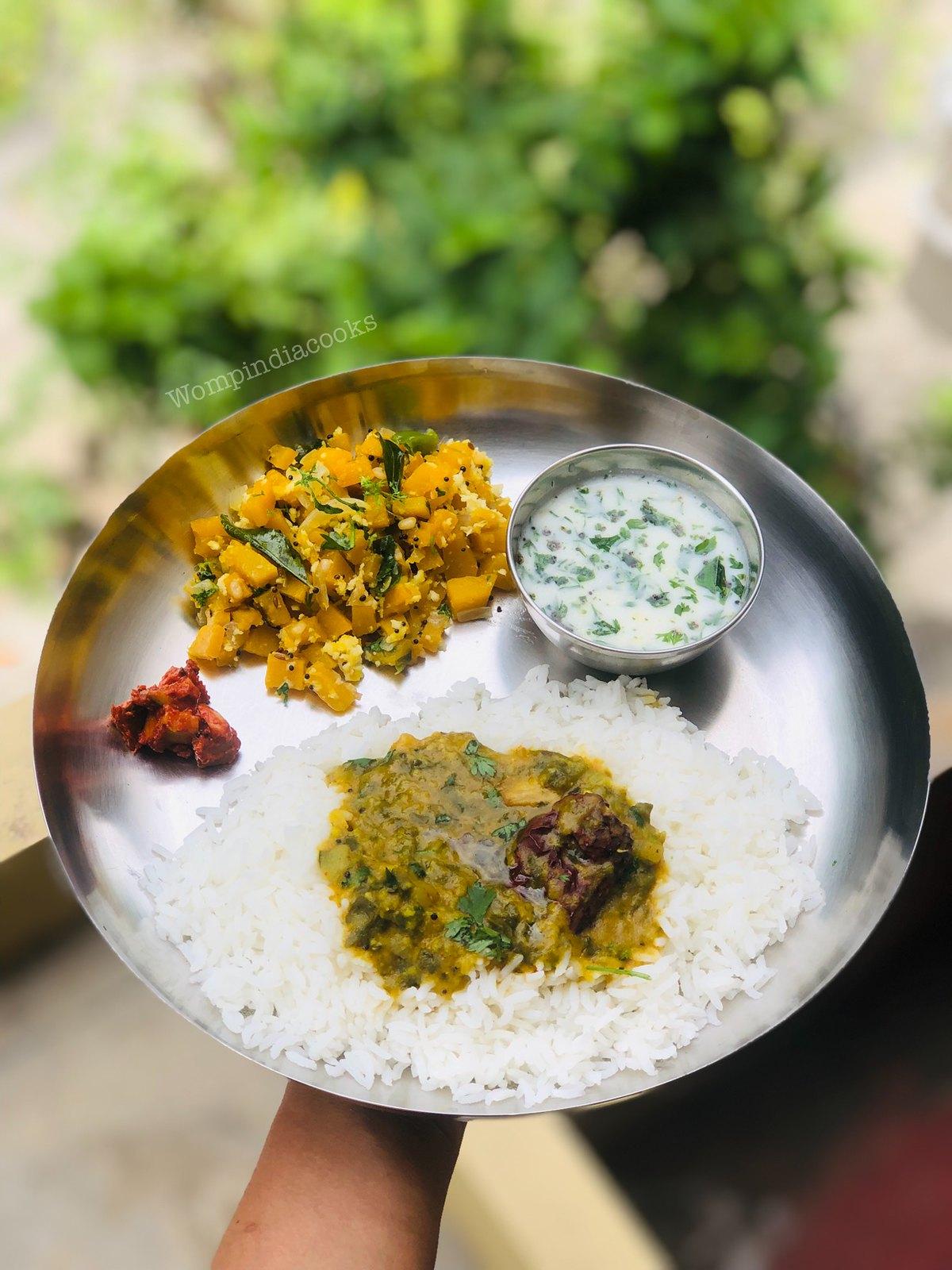 Palakura Pappu |Tasty Palak Dal |Spinach Dal Recipe