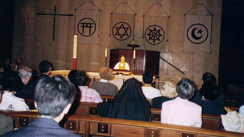 1996, Interfaith Prayer