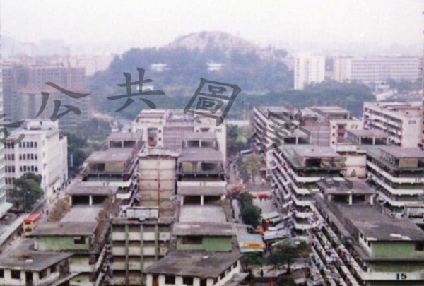 WBO church was located on a roof top of the Wong Tai Sin resettlement estate.
