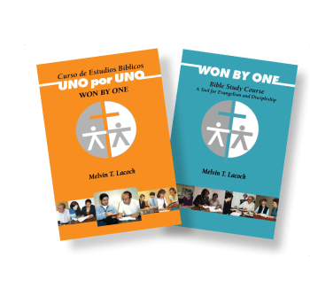 Won By One Bible Study Course Books--English and Spanish