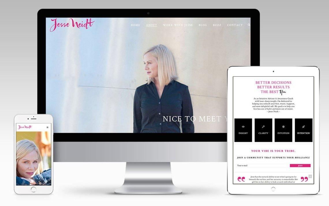 Web Design Portfolio - Jesse Neidt