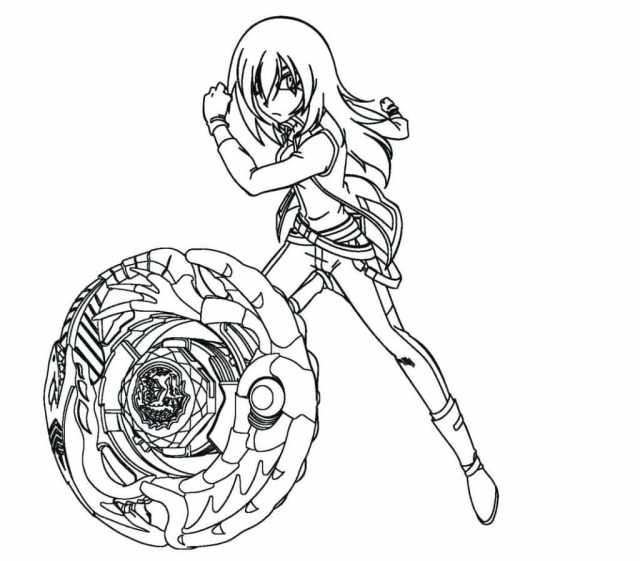 Beyblade coloring pages. Top 16 Images for Printing
